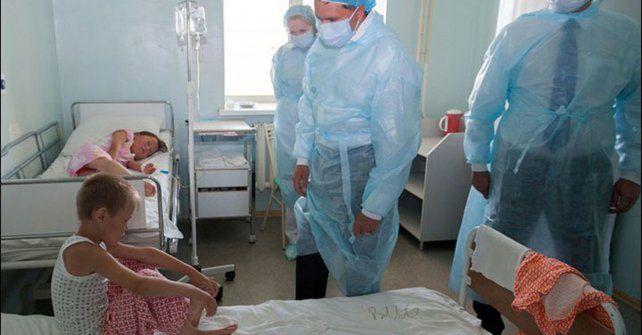 Peligroso. Varios niños resultaron infectados con ántrax en el norte ruso.