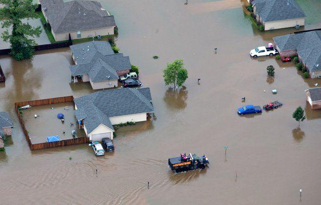 Desastre. La ciudad de Amite (Louisiana) es una de las más castigadas.