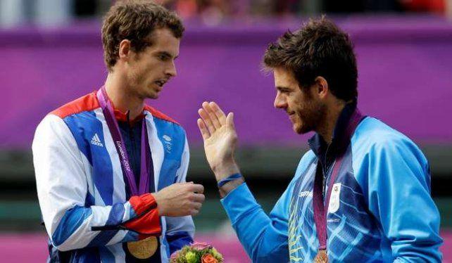 Murray y Delpo van por el oro.