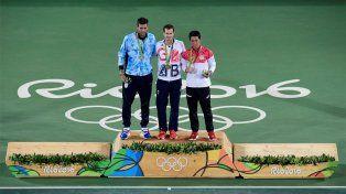 Del Potro obtuvo la medalla de plata tras caer en la final olímpica frente al británico Murray