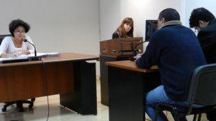 adentro. El Gallo Hernández declaró ayer en la audiencia de apertura ante la jueza Marcela Pérez