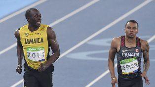 Bolt sumó el primero de los tres oros que pretende ganar en Río
