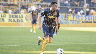 El volante canalla anotó el gol durante el empate de Argentina contra Honduras en Río.