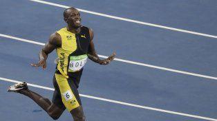O Rei Usain Bolt, las fotos del jamaiquino que se quedó con el oro en los 100 metros llanos
