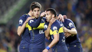 El golazo de Pablo Pérez para la victoria de Boca en el clásico ante San Lorenzo