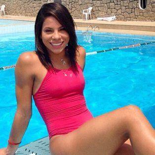 Ingrid de Oliveira, protagonista de la noche de sexo junto al remeroPedro Gonçalves.