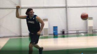 Scola es el capitán de la selección argentina de básquet.