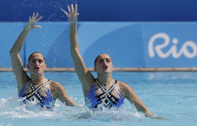 Las mellizas Sánchez tuvieron otra buena actuación y quedaron 19º tras finalizar la rutina de nado sincronizado