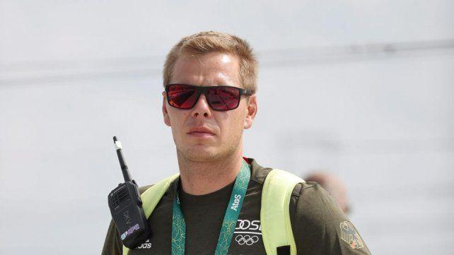 Un asistente alemán del equipo de canotaje murió hoy en Río de Janeiro