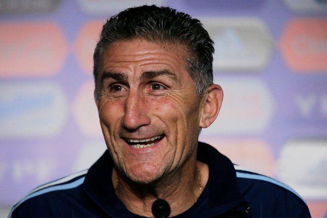 Bauza admitió que le gustaría que Argentina sea local en el Gigante de Arroyito