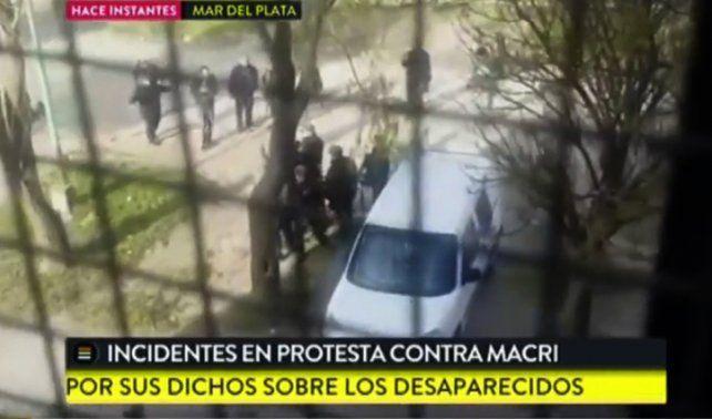 Detonante. Lavagna repudió la reciente agresión a Macri en Mar del Plata.