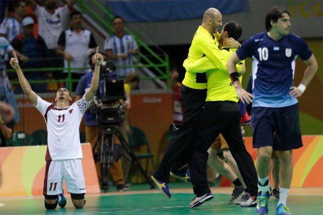 Los Gladiadores perdieron ante Qatar y se quedaron afuera de los Juegos Olímpicos