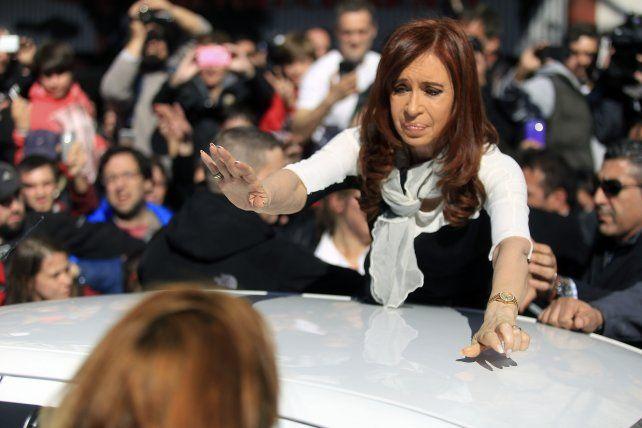 La expresidenta Cristina Fernández es investigada por la Justicia.
