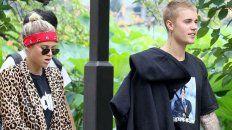 Justin Bieber y su nueva novia Sofia Richie, hija del conocido cantante Lionel Richie.