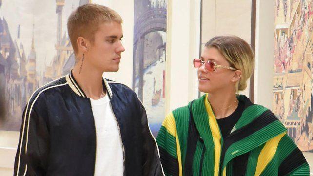 Justin Bieber y su nueva novia Sofia Richie