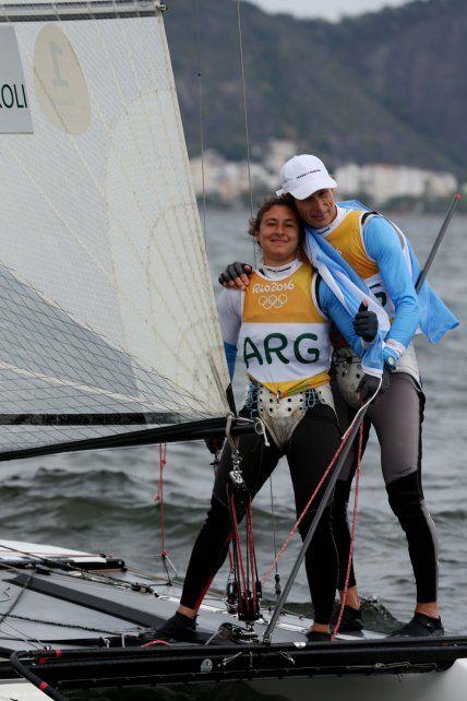El esforzado camino de la regatista del Yacht Club Rosario, que hoy coronó una exitosa carrera