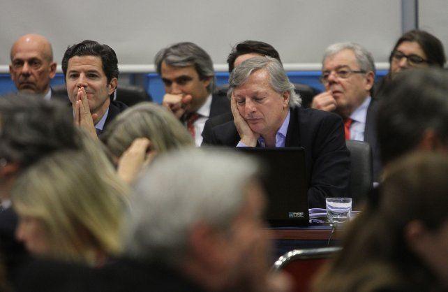 El ministro Juan José Arangurenexpuso en un plenario de comisiones de la Cámara de Diputados.
