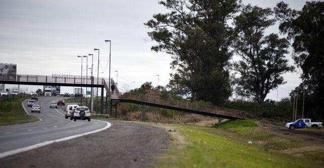 Bajo la lupa. Parte de la zona jaqueada por los robos a automovilistas. La obra demandará tres meses de ejecución.