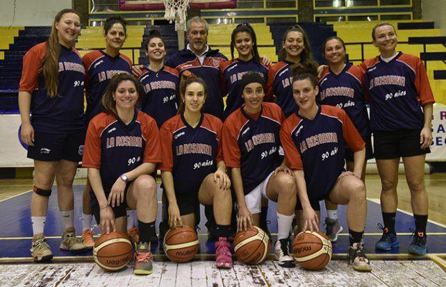 Las campeonas. El plantel que logró el campeonato en Cañada de Gómez.