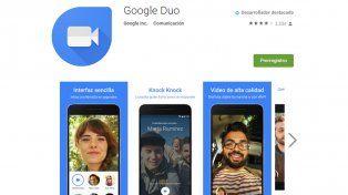 Google hace una apuesta fuerte con Duo.