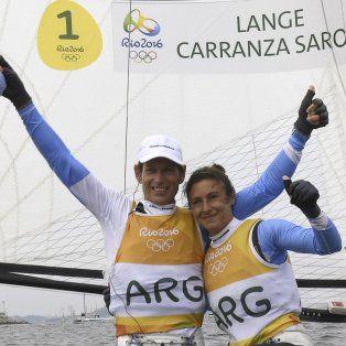 Ellos llegaron primeros a la competencia por la medalla y sabían que un tercer puesto era suficiente para ganar el oro.