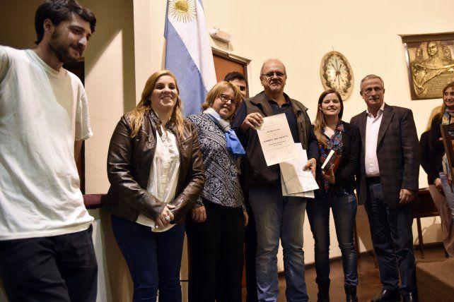Los concejales distinguieron a Norberto Galiotti