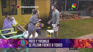 Los ánimos están caldeados por la insólita reacción de Patricio tras otra pelea con Yasmila