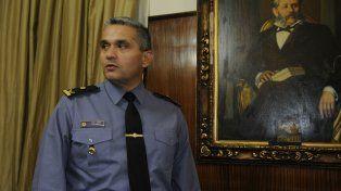 Amaya asumió en forma interina la jefatura de policía provincial.