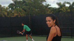 Maypi dijo que compartieron viajes y clases de tenis.