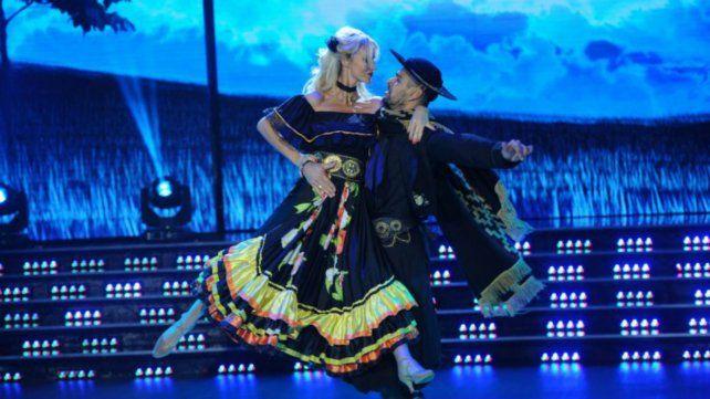 Sabrina Rojas brilló en la pista del Bailando con un chamamé subido de tono