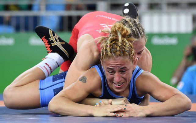 La luchadora argentina Patricia Bermúdez perdió con la subcampeona mundial