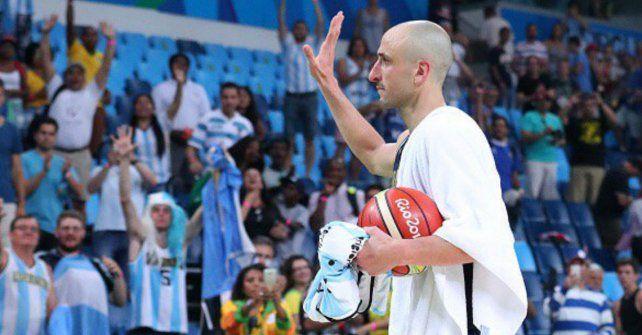 La NBA, a los pies de un gigante como Manu Ginóbili