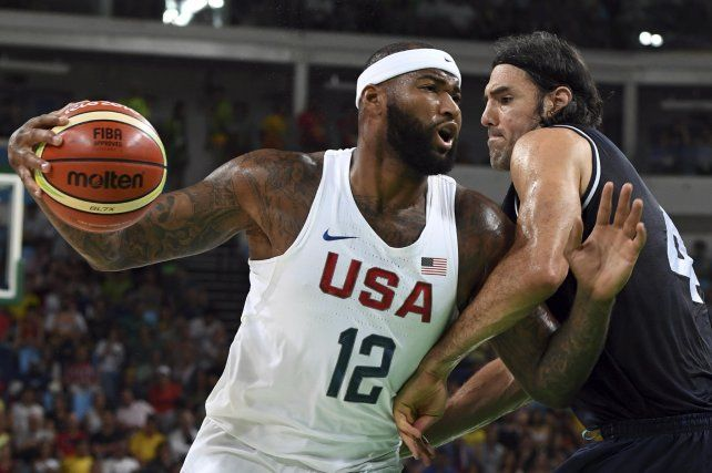 El seleccionado argentino de básquet perdió ante Estados Unidos y se despidió de los Juegos Olímpicos