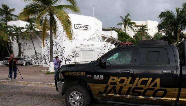 escena. El restaurante de Puerto Vallarta de donde fueron levantados los seis narcos del cártel de Sinaloa.