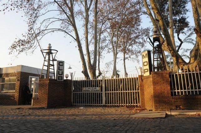 polémico. Las obras en el club MOP fueron criticadas en varias oportunidades.