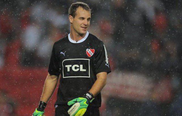Diablo. Diego Rodríguez no es primera opción en el Rojo y Coudet pretende sumarlo. Es uno de los primeros nombres a los que apuntó el técnico canalla.