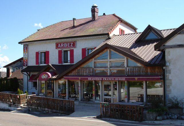 El pintoresco hotel Arbez