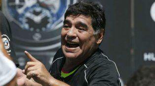 Antes de irse del país, Maradona se sometió a una sesión ortomolecular