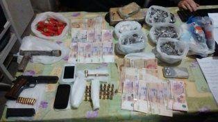 Personal del Comando Radioléctrico detuvo a los ladrones en pleno asalto.