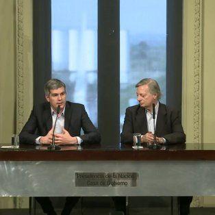 El ministro dijo que las empresas deberán refacturar el consumo de los usuarios.