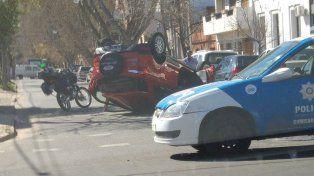El accidente se produjo en horas del mediodía.