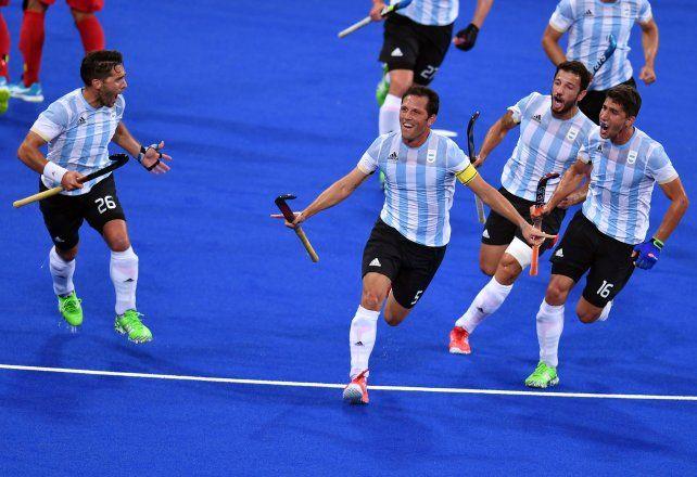 Pedro Ibarra marcó el empate y lo grita con alma y vida.
