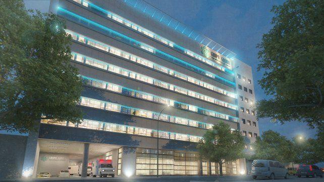 lo que viene. Imagen digital del Hospital Privado Rosario