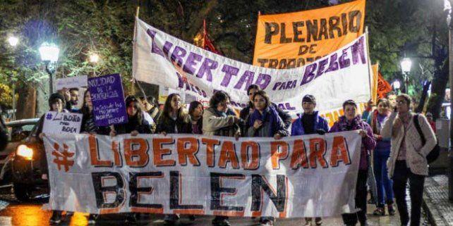 Triunfo. El sábado se concretó una marcha nacional en favor de Belén.
