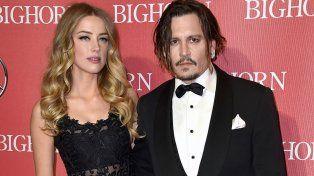 La pareja en enero de este año durante un festival de cinePalm Spring en California. La situación ya era tensa.