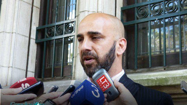 El fiscal Rafael Coria