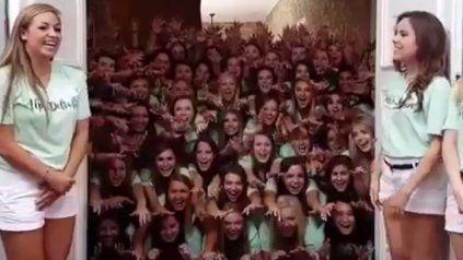 Este vídeo de una hermandad americana está aterrorizando a todo Twitter
