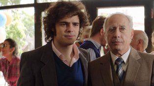 Peter Lanzani y Guillermo Francella
