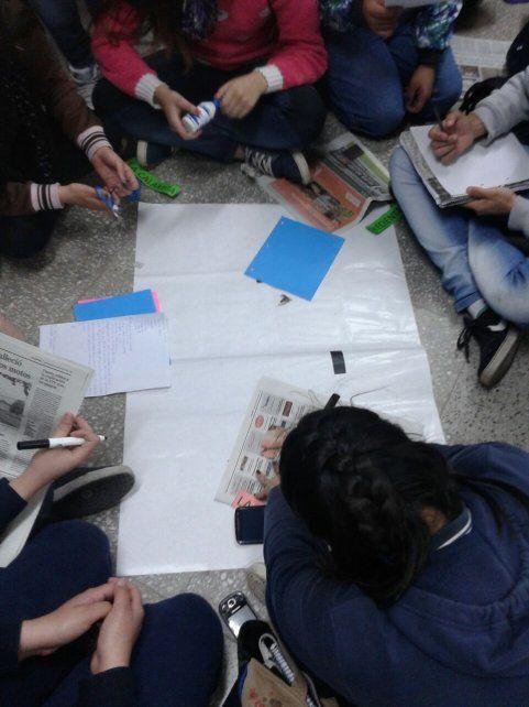 Los estudiantes secundarios proponen ampliar la convocatoria a otras escuelas.