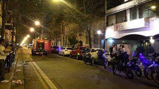 Susto y preocupación en el Centro Navarro por la explosión de una garrafa